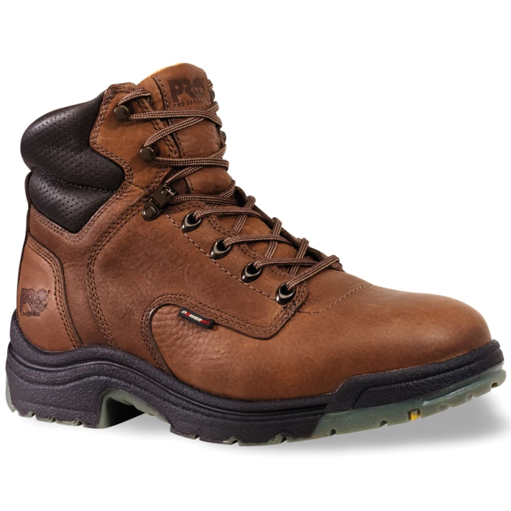 TIMBERLAND PRO Men's Titan Power Fit Saftey Boots, Wide - BROWN