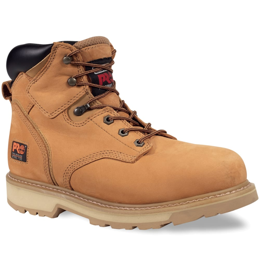 TIMBERLAND PRO Men's Safety Toe Pit Boss Work Boots, Wide - WHEAT
