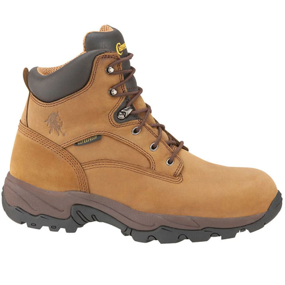CHIPPEWA Men's Composite Toe Waterproof Work Boots - BROWN