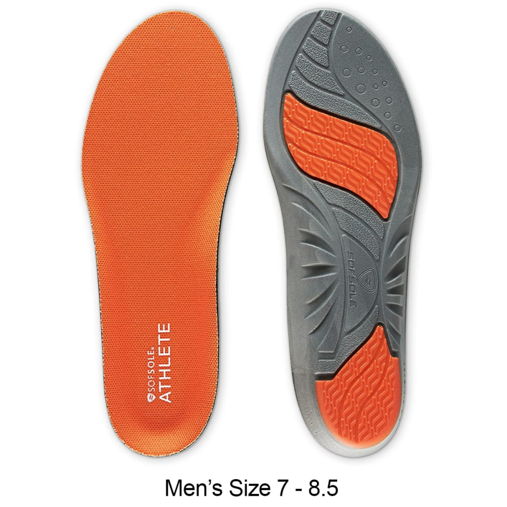 SOF SOLE Men's Athlete Insoles - ASST 7-8.5