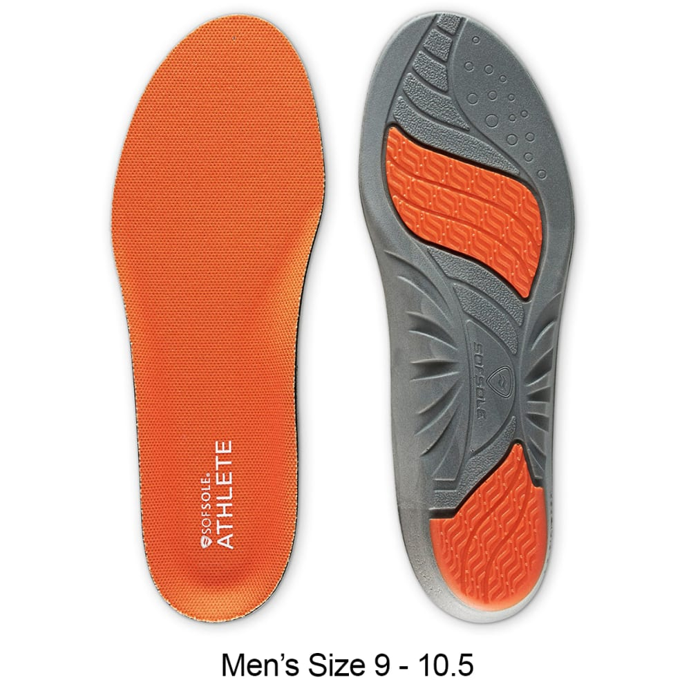 SOF SOLE Men's Athlete Insoles - ASST 9-10.5 13006