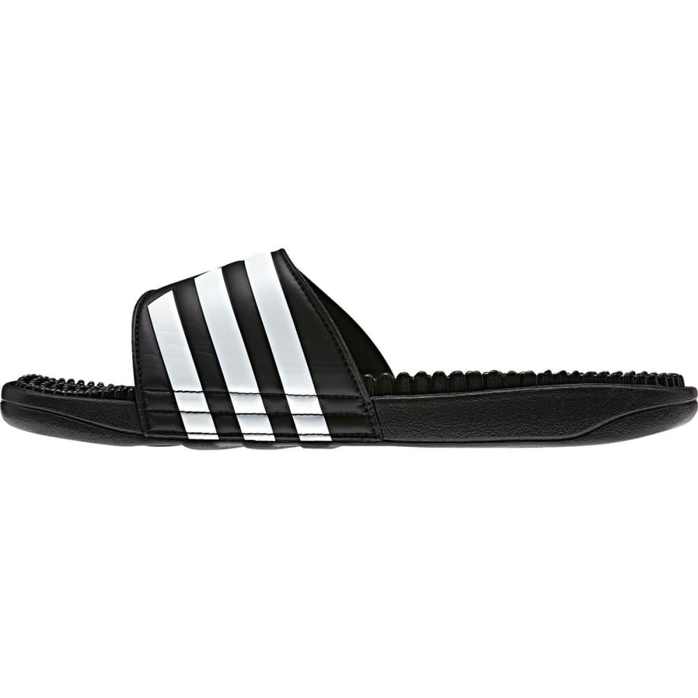 ADIDAS Women's Adissage Slides - BLACK/WHITE -087609