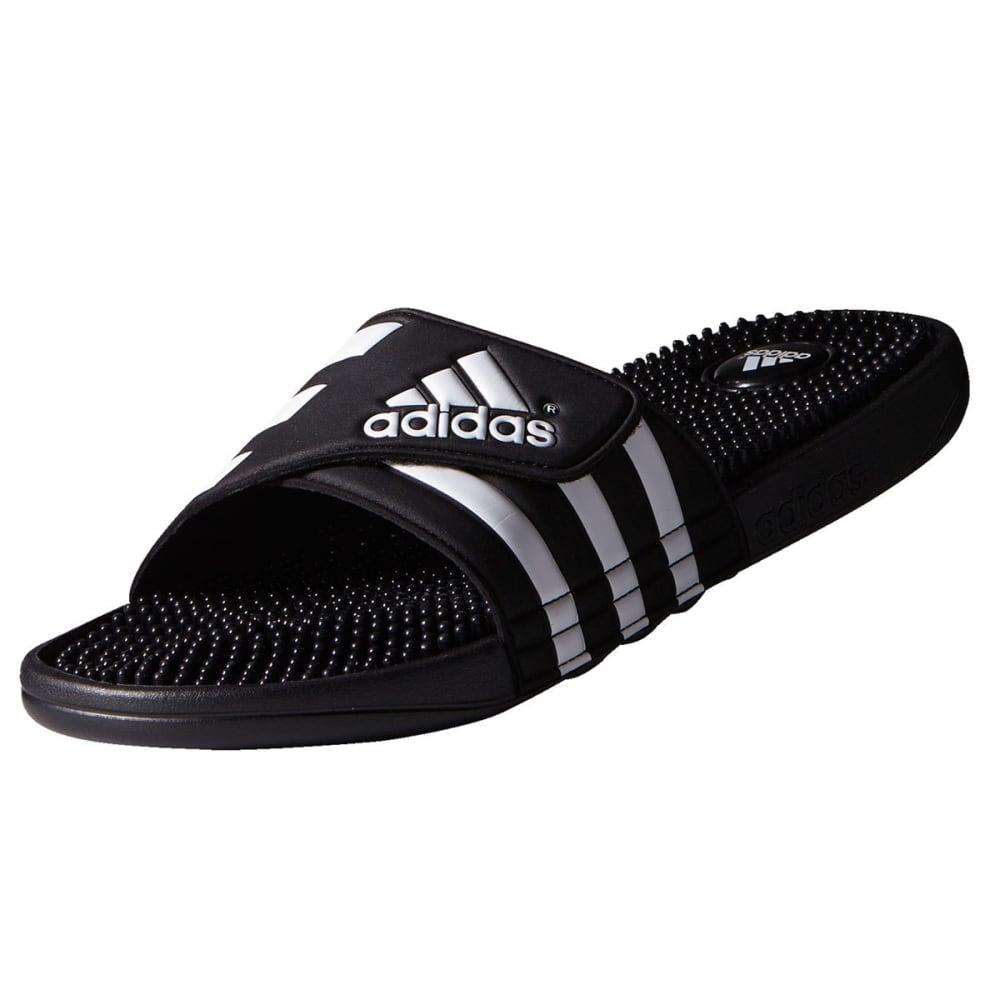 38e586086306 ADIDAS Women  39 s Adissage Slides - BLACK WHITE -087609