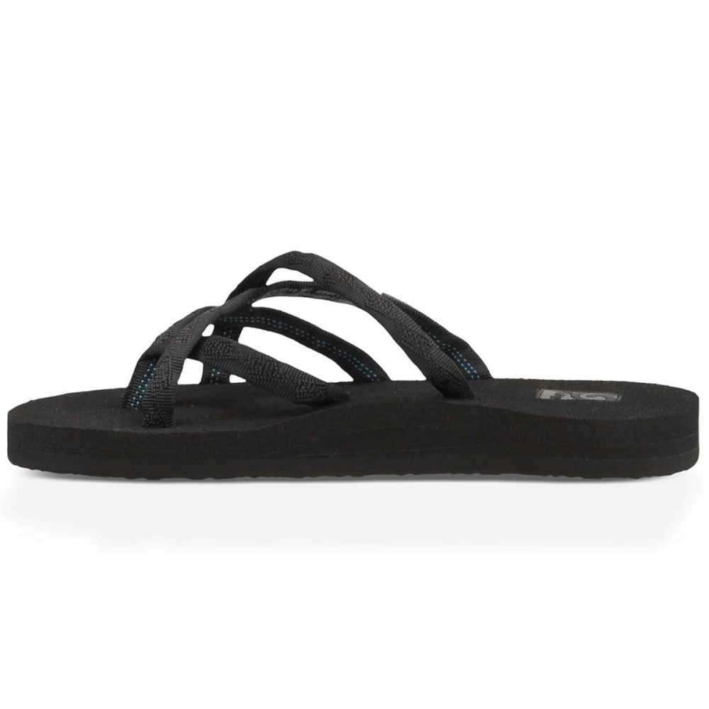 TEVA Women's Olowahu Sandals - BLACK MIX B BLK