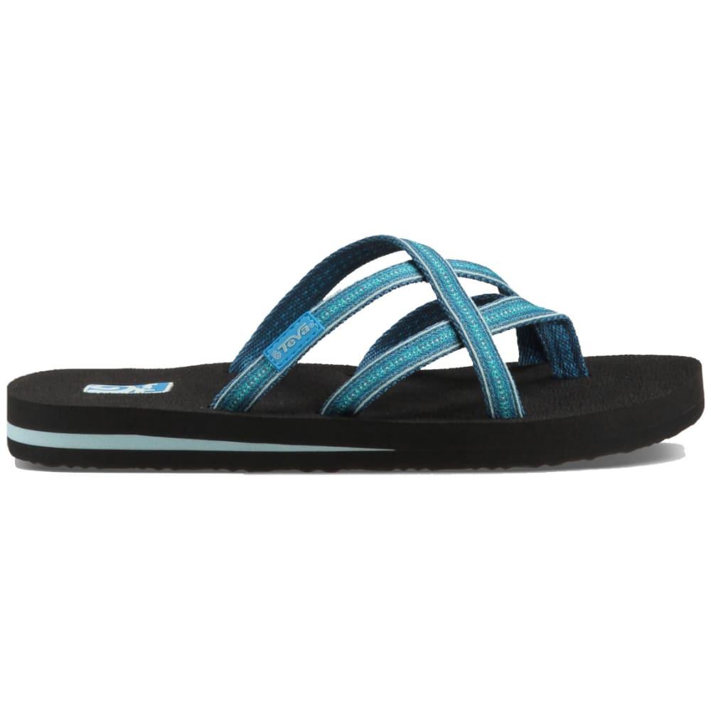 d96437d3d UPC 737045347325 - Teva Olowahu Flip Flop - Women s Pintado Blue ...