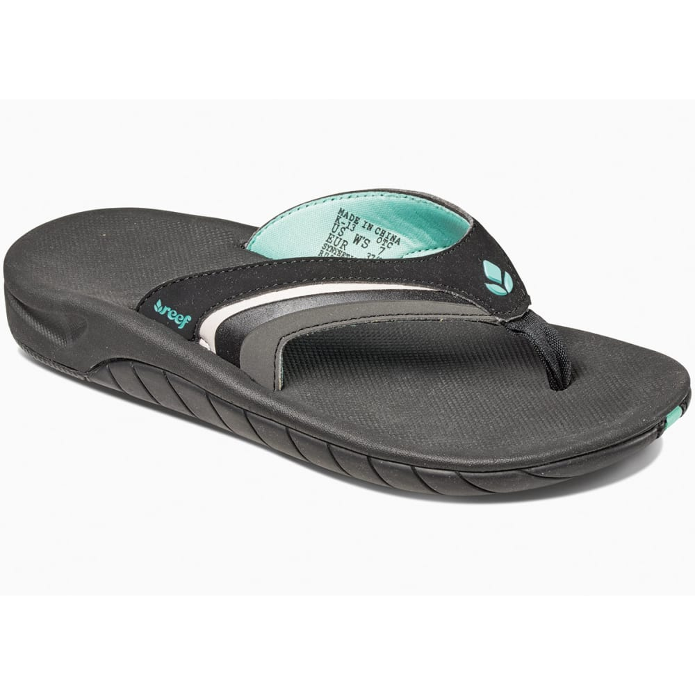 REEF Women's Slap 3 Flip-Flops - BLACK