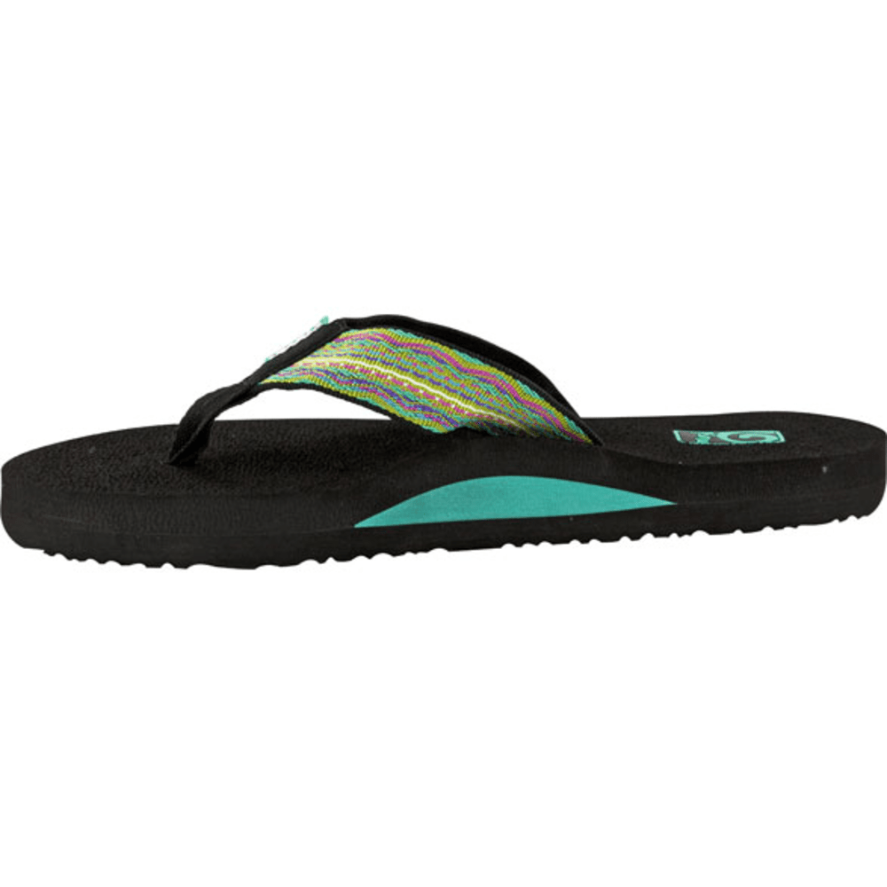 TEVA Women's Mush II Sandals - SANTORI TRIBAL NEON