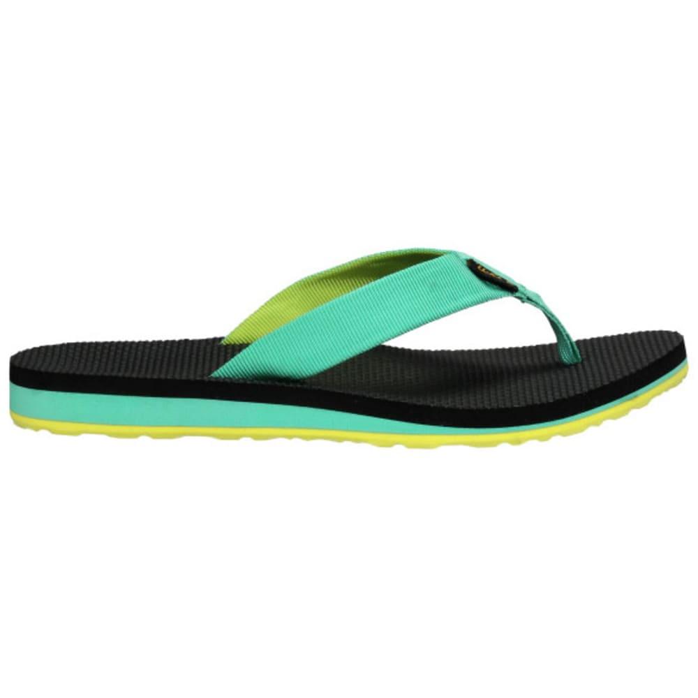 TEVA Women's Original Flip-Flops - AQUA