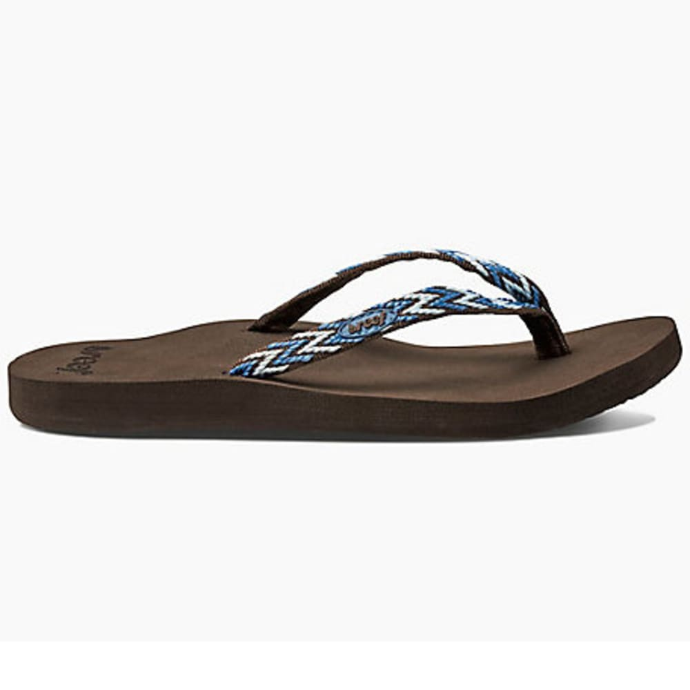 REEF Women's Ginger Drift Sandals - BLUE