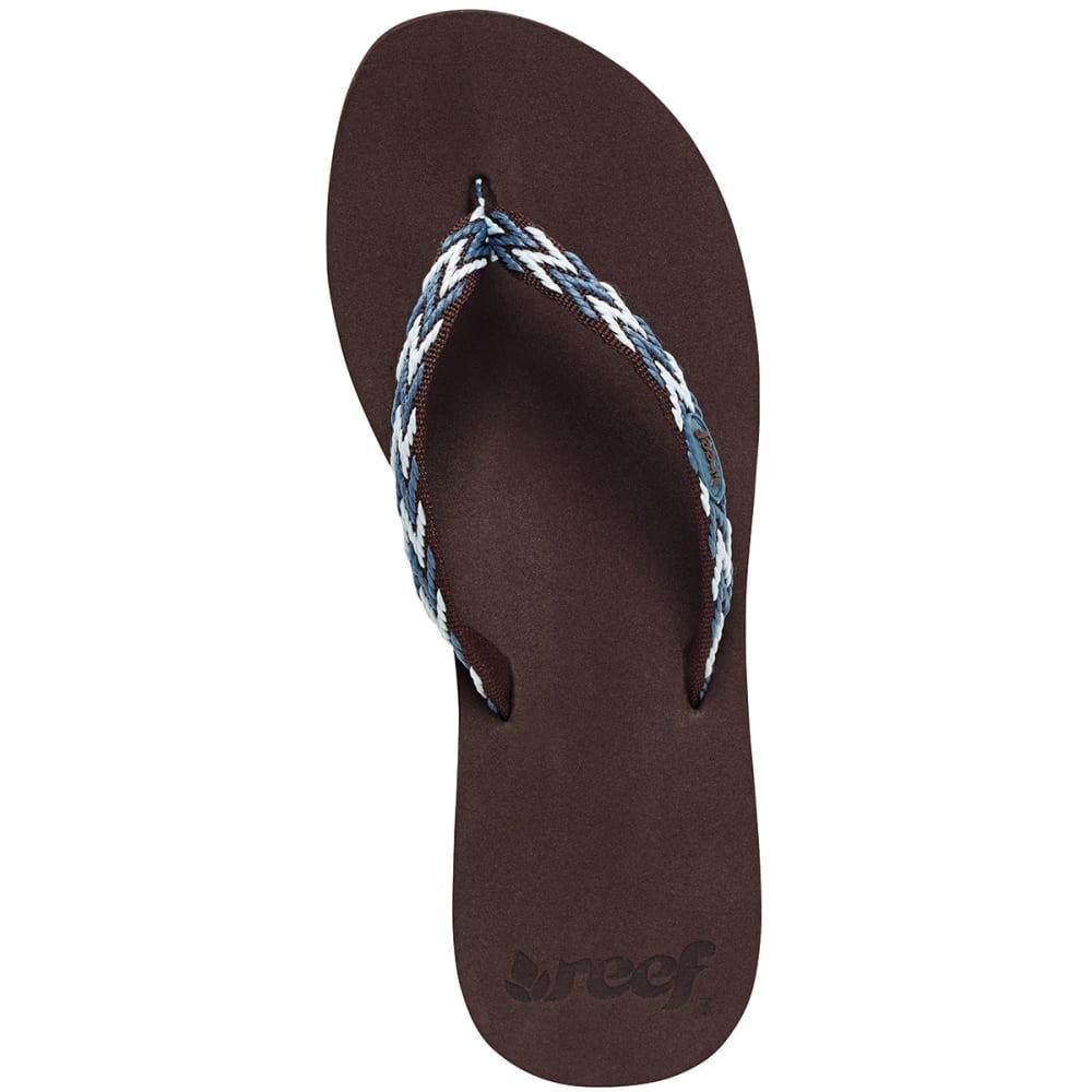 REEF Women's Ginger Drift Sandals - BLUE