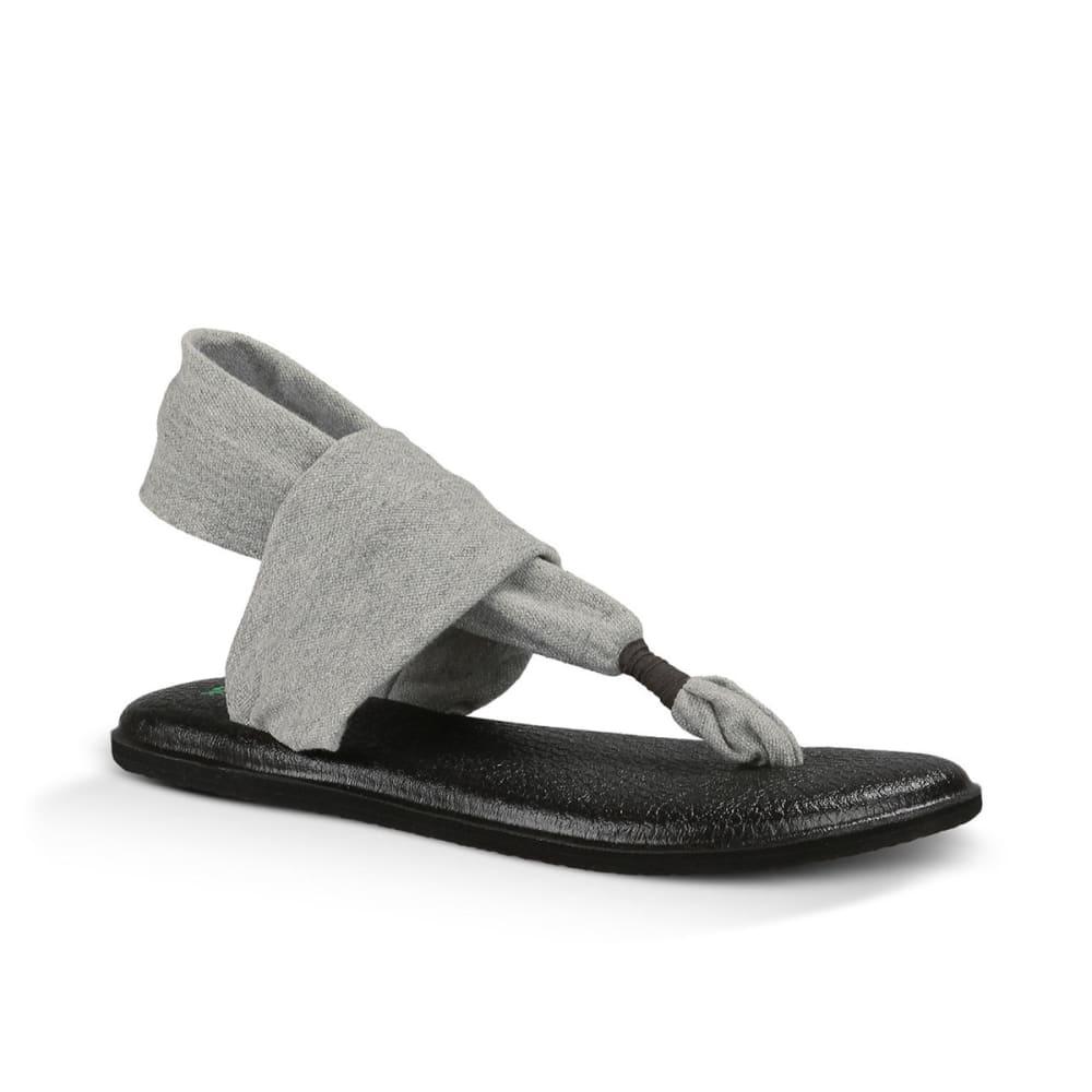 SANUK Women's Yoga Sling 2 Flip-Flops - GRAY