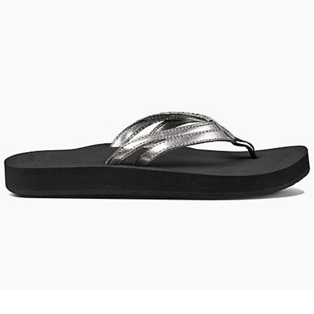 REEF Women's Cushion Twin Flip-Flops - SILVER