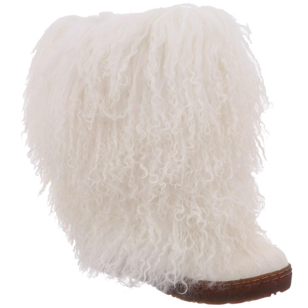 BEARPAW Women's Boetis II Boots, White - WHITE