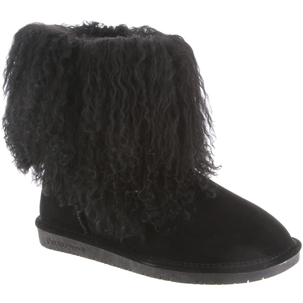 BEARPAW Juniors' Boo Boots - BLACK