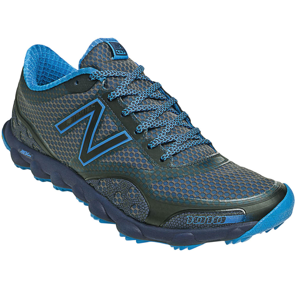 NEW BALANCE Men's MT1010 Trail Running Shoes, Grey - GREY/BLUE
