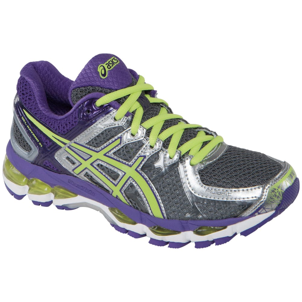 ... UPC 887749567205 product image for Women's GEL-Kayano 21 Road Running  Shoes, Charcoal/