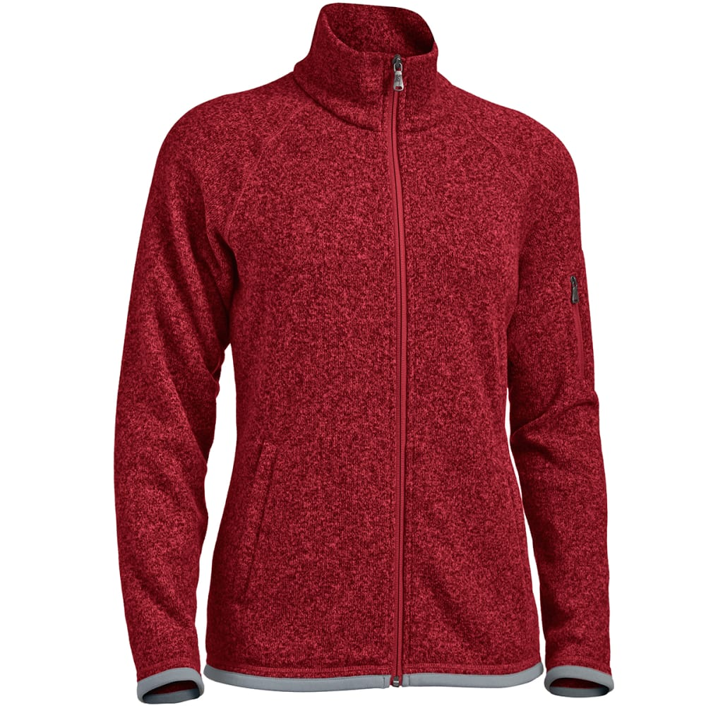 EMS® Women's Roundtrip Full-Zip Fleece Jacket - BIKING RED