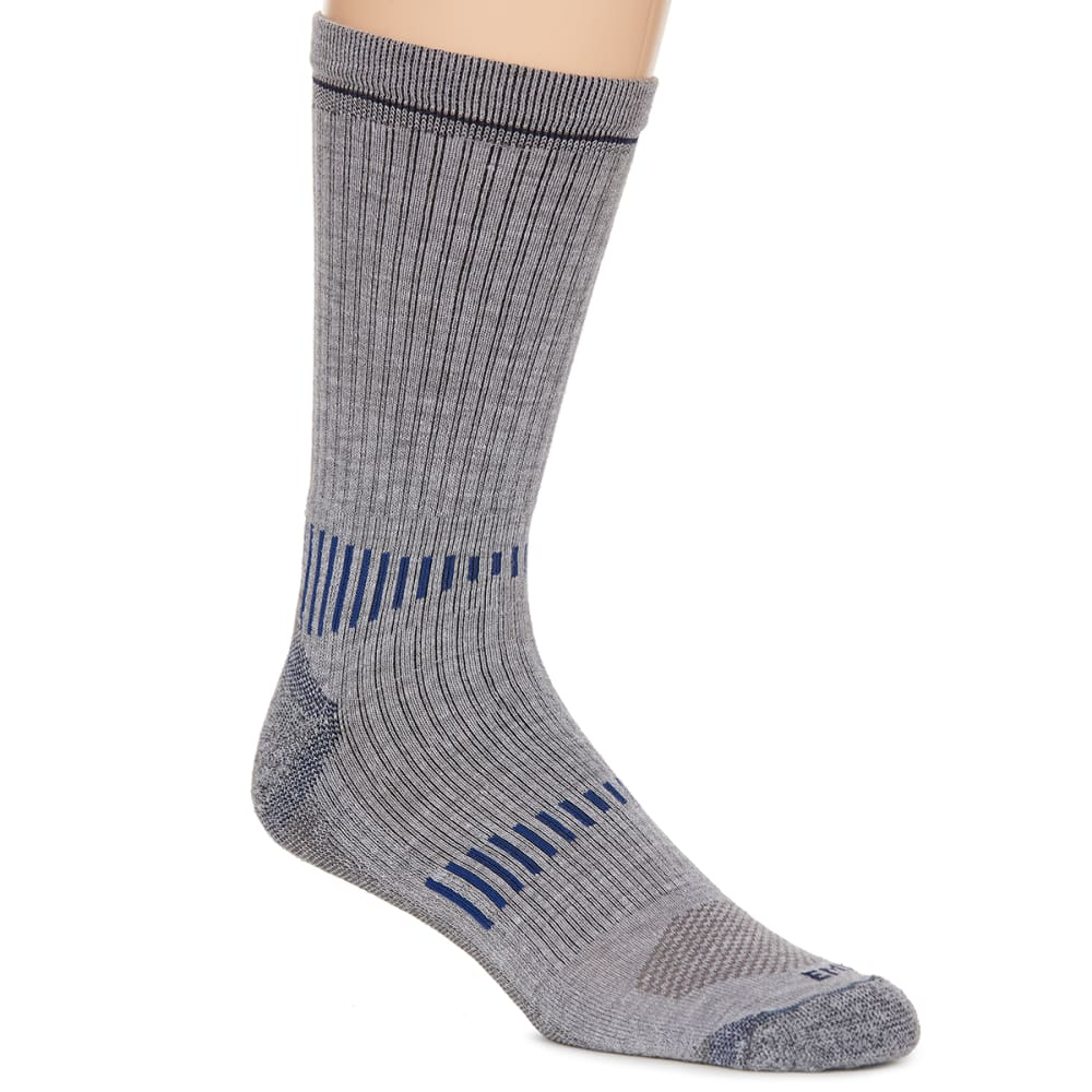 EMS® Men's Fast Mountain Lightweight Coolmax Crew Socks, Grey  - GREY