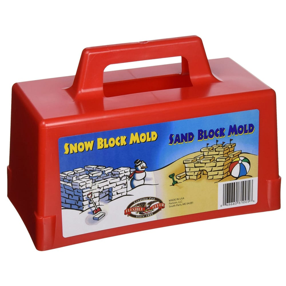 PARICON Kid's Snow and Sand Block Maker - RED