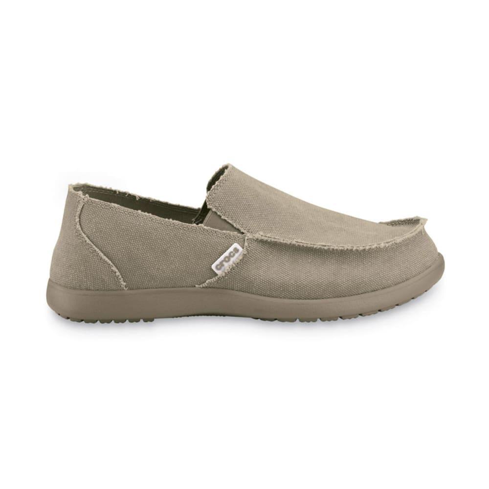 Crocs Men's Santa Cruz Croslite Slip On - KHAKI-261
