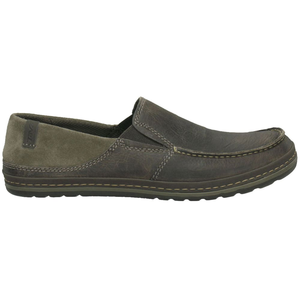 TEVA Men's Clifton Creek Leather Slip-On Shoes - BUNGEE CORD