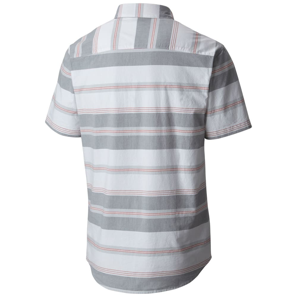 COLUMBIA Men's Thompson Hill II Yarn Dye Shirt - GRY ASH STRIPE-022