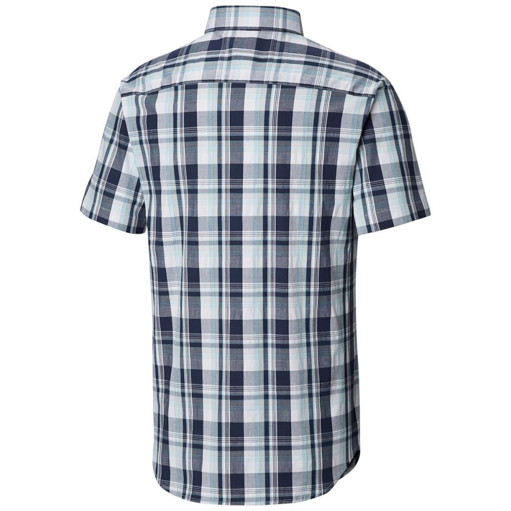 COLUMBIA Men's Rapid Rivers Mirage Short-Sleeve Shirt - 019 COOL GREY MULTIP