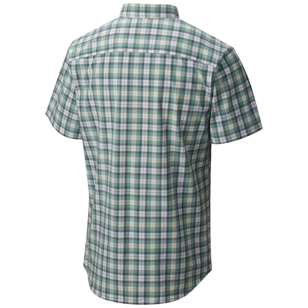 COLUMBIA Men's Rapid Rivers Mirage Short-Sleeve Shirt - DUSTY GRN M PLD-387