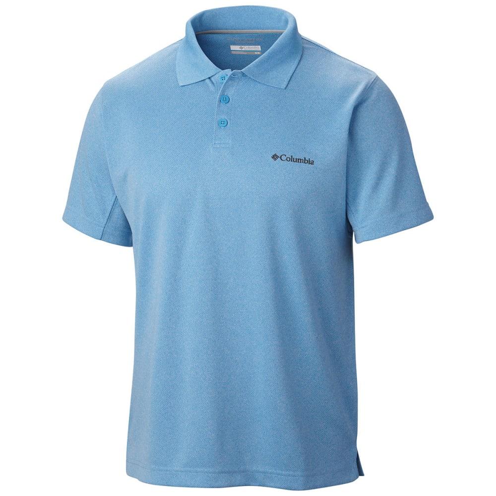 COLUMBIA Men's New Utilizer Polo Shirt - HORIZON BLUE