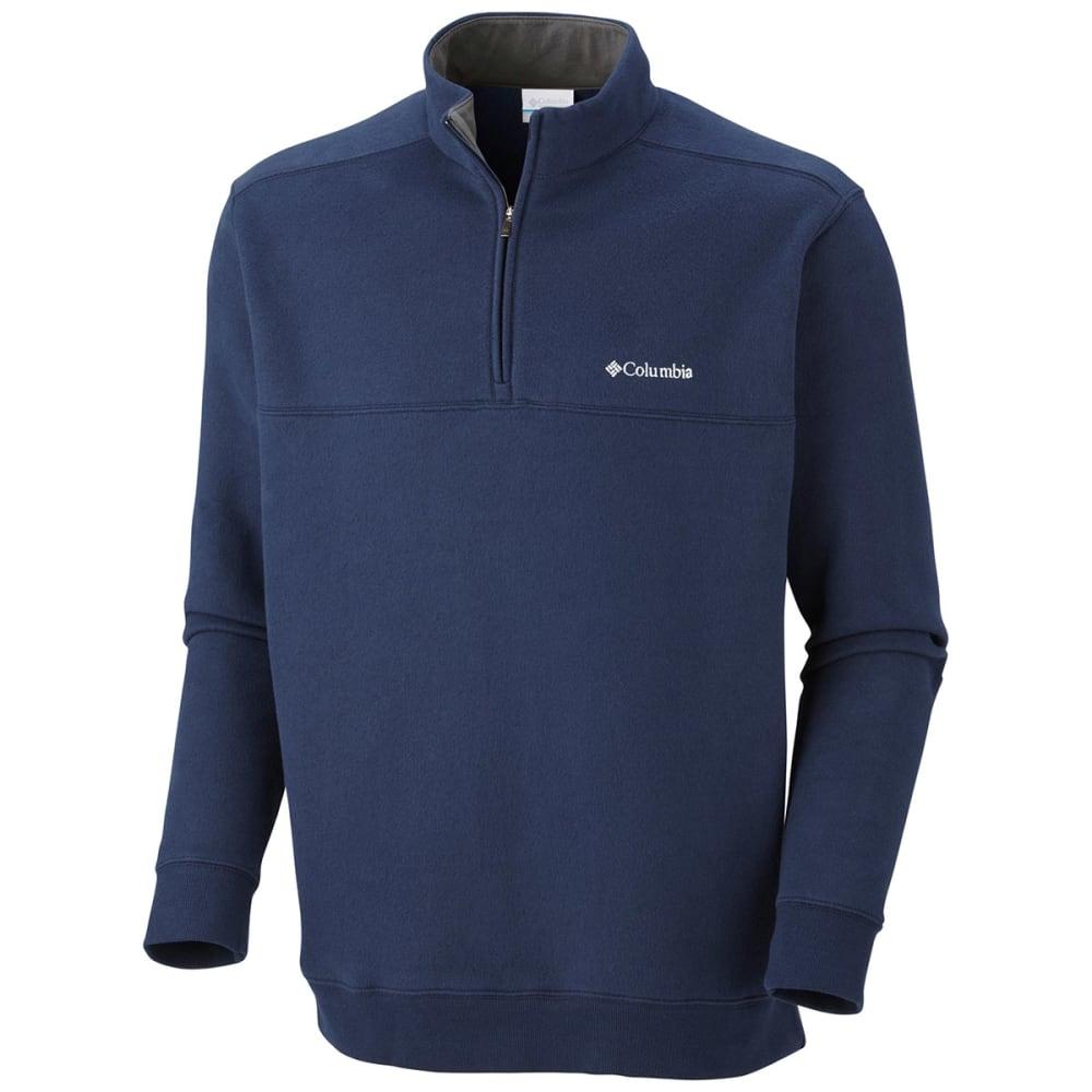 COLUMBIA Men's Hart Mountain Quarter Zip Pullover Sweatshirt M