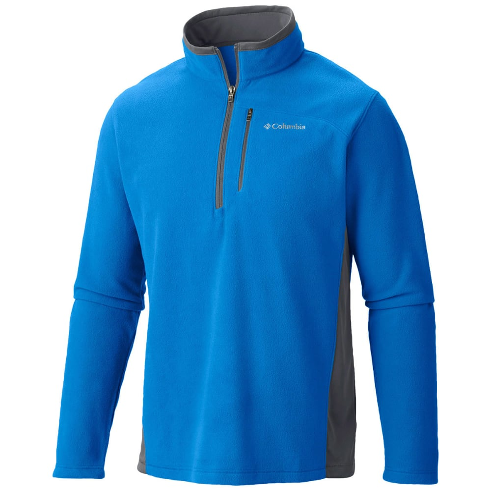 COLUMBIA Men's Lost Peak Half-Zip Fleece - MARINE BLUE