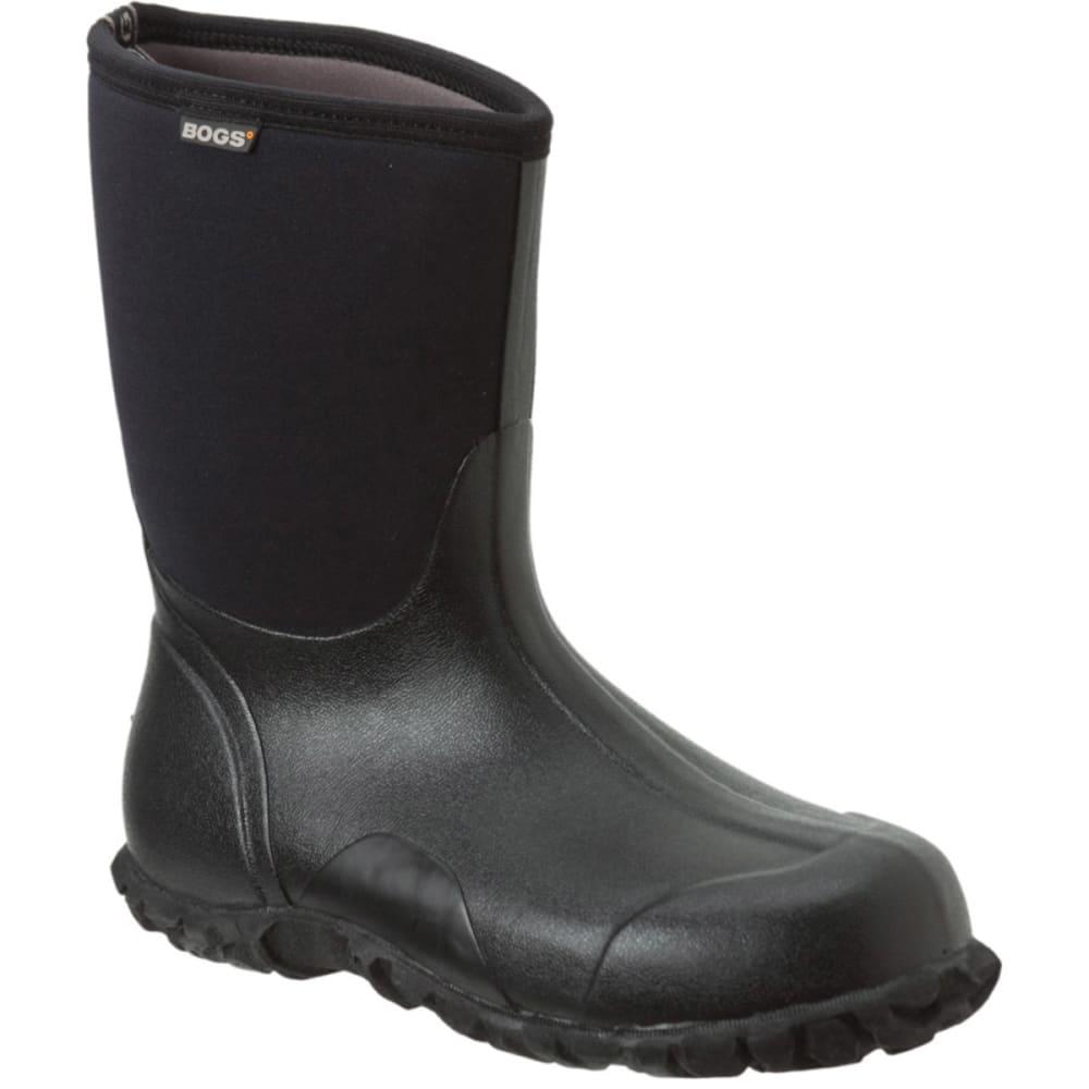 BOGS Men's Classic Mid Waterproof Work Boots - ONYX