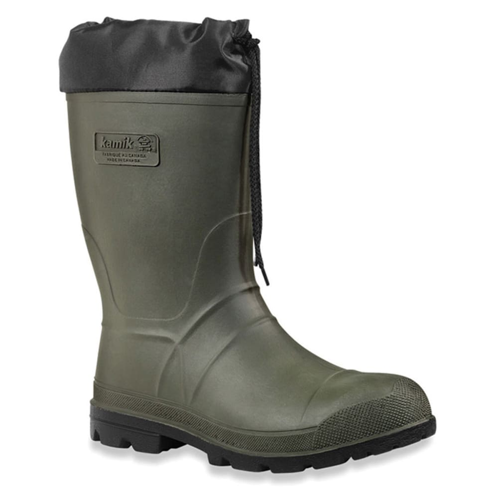 KAMIK Men's Hunter Boots - KHK KHAKI GREEN