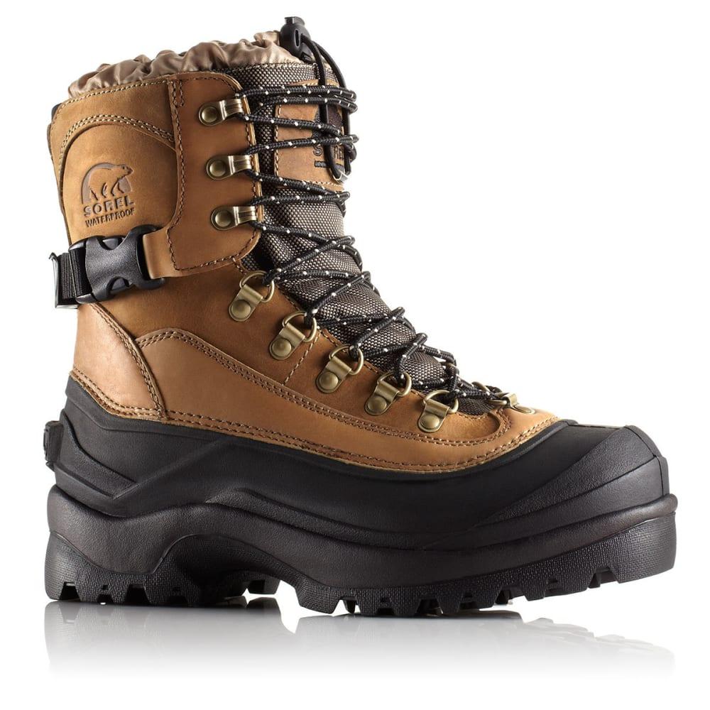SOREL Men's Conquest Boots - 265 BRITISH TAN