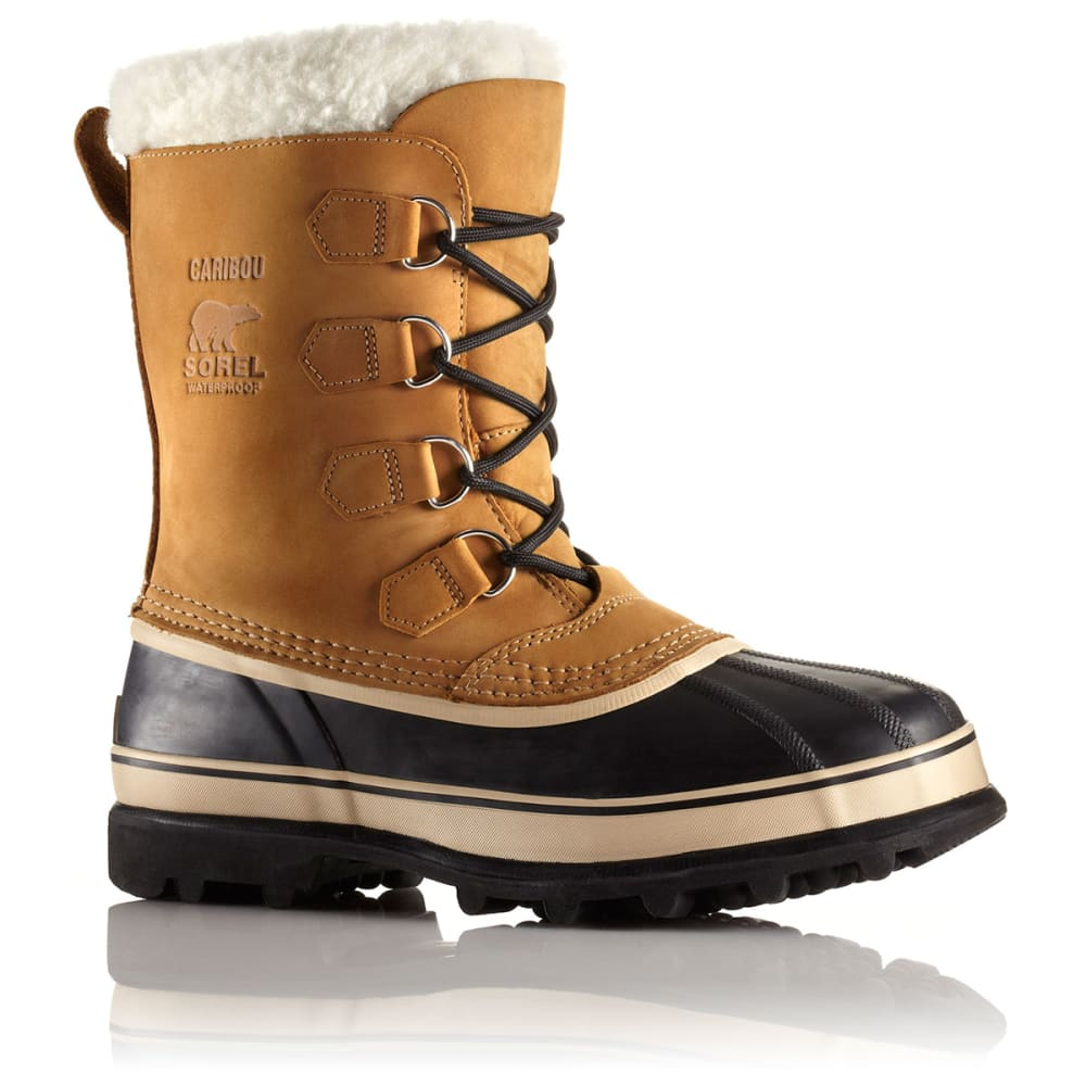 SOREL Men's Caribou Winter Boots - 281 BUFF