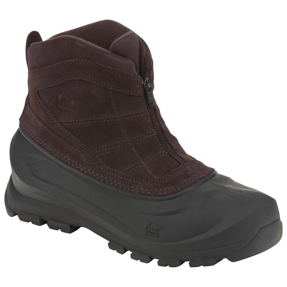 Sorel Men's Cold Mountain Zip Winter Boots - Brown NM1436