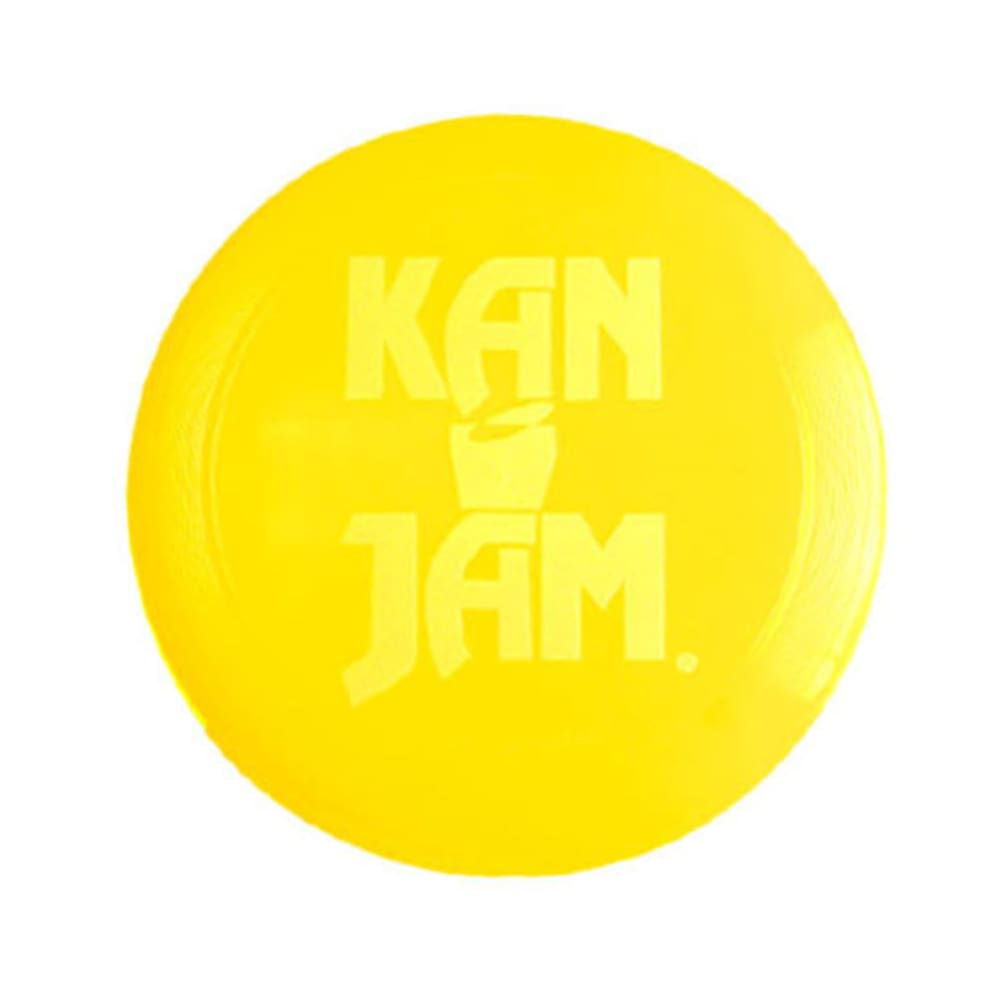 KAN JAM Flying Disc - YELLOW