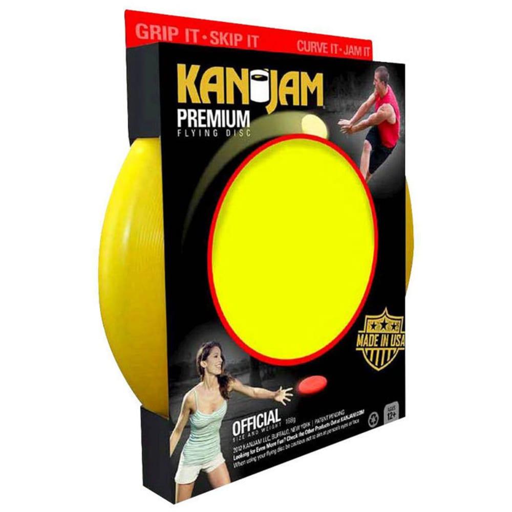 KAN JAM Flying Disc - YELLOW