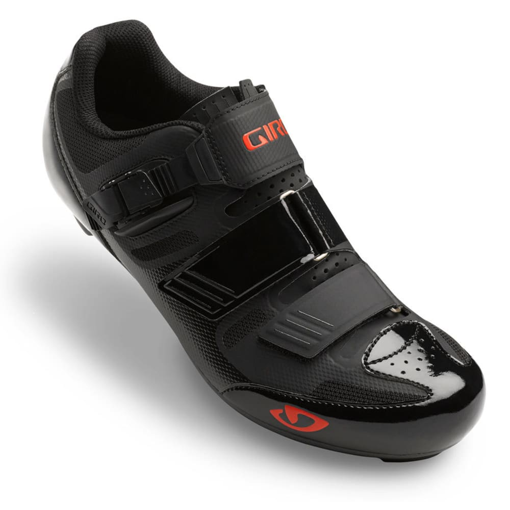 GIRO Men's APECKX II Cycling Shoes - BLACK/BRIGHT RED