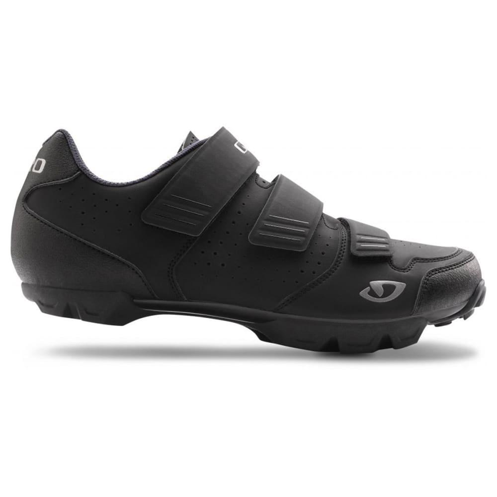 GIRO Men's Carbide R Cycling Shoes - BLACK/CHARCOAL