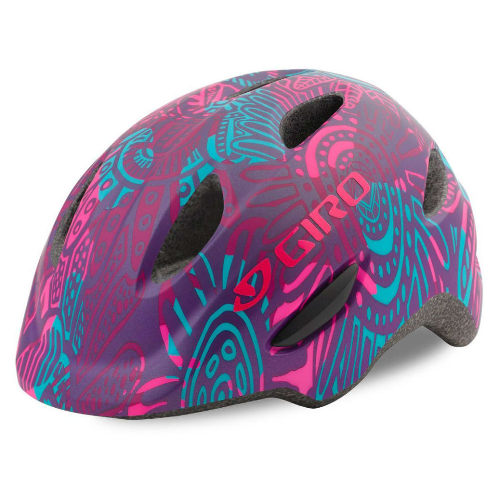 GIRO Kids' Scamp Helmet - MATTE PURPLE BLOSSOM