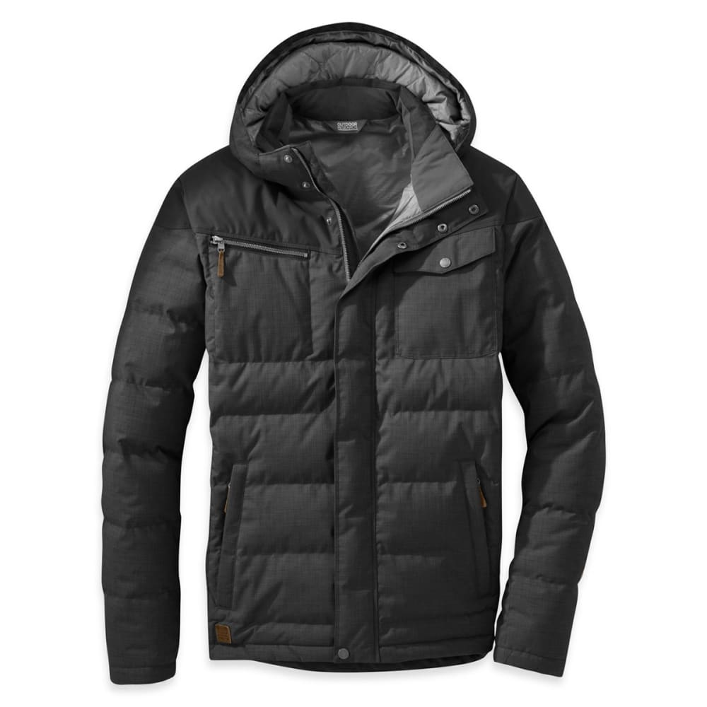 OUTDOOR RESEARCH Men's Whitefish Down Jacket - BLACK