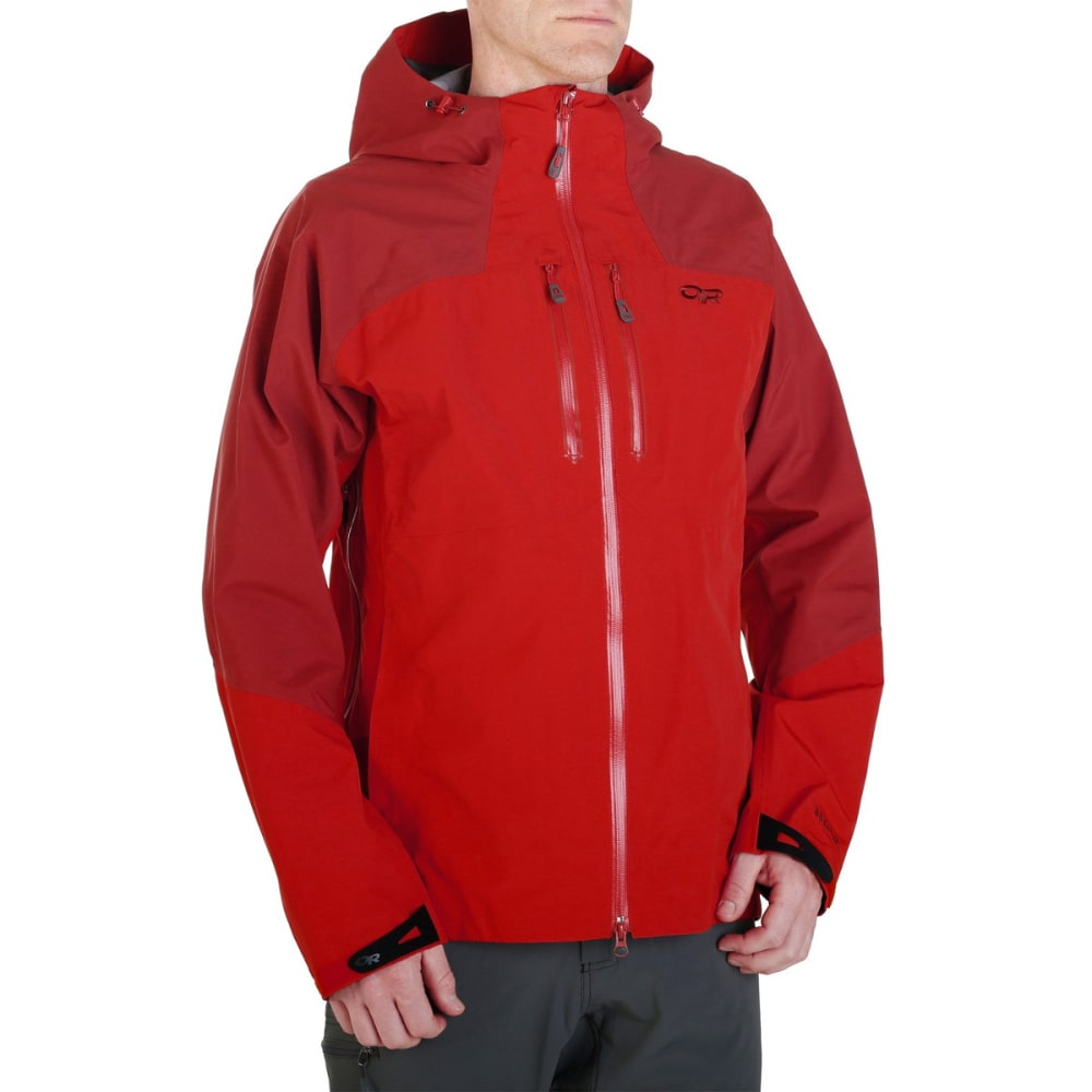 OUTDOOR RESEARCH Men's Furio Jacket - HOT SAUCE