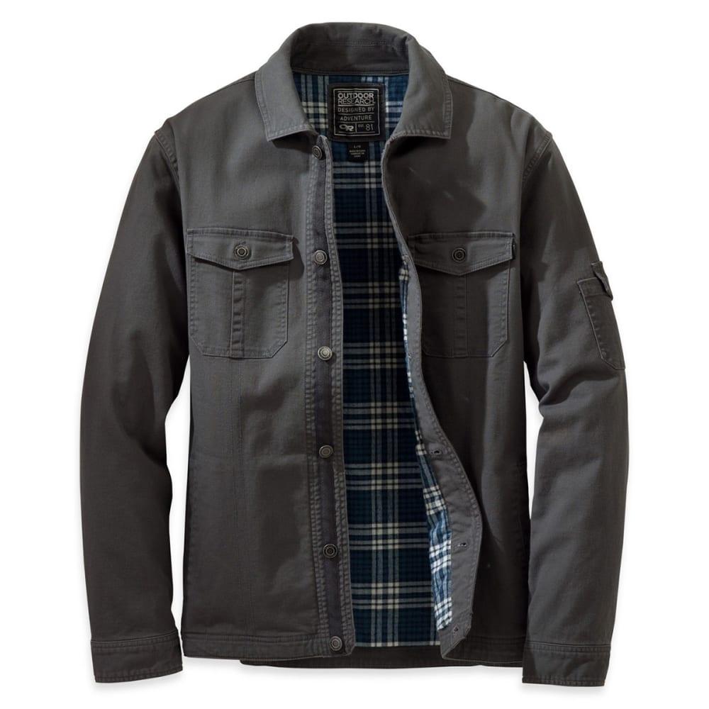 OUTDOOR RESEARCH Men's Winter Deadpoint Jacket™ - CHARCOAL