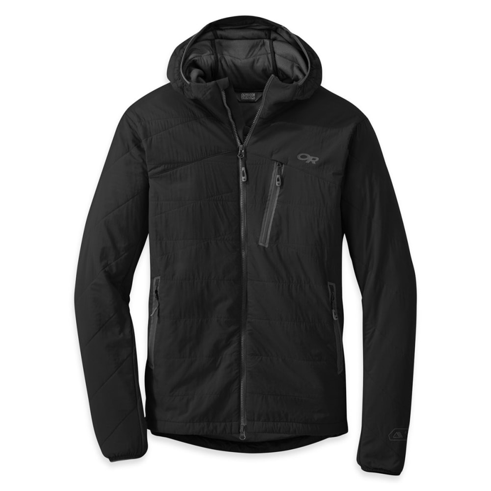 OUTDOOR RESEARCH Men's Uberlayer Hooded Jacket™ - 0001-BLACK