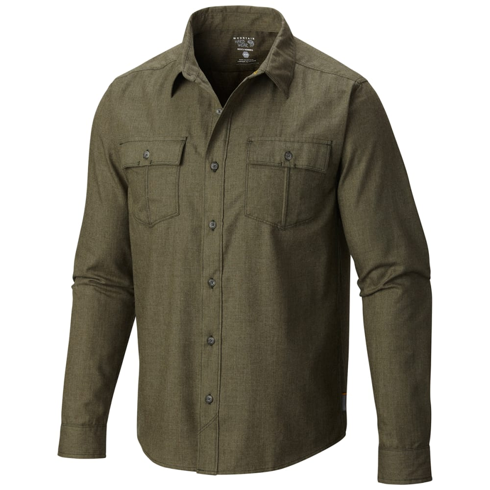 MOUNTAIN HARDWEAR Men's Frequentor   Flannel - GREENSCAPE
