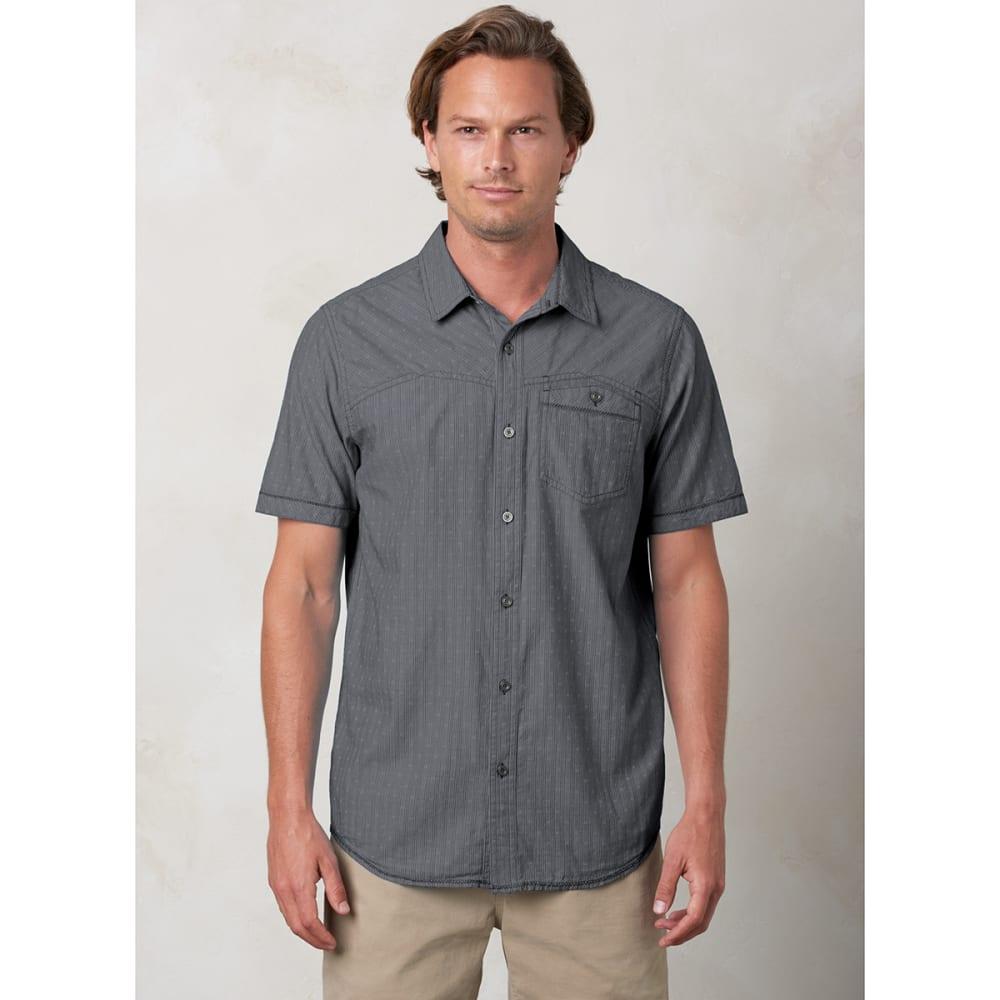 PRANA Men's Patras Slim-Fit Shirt - CHARCOAL