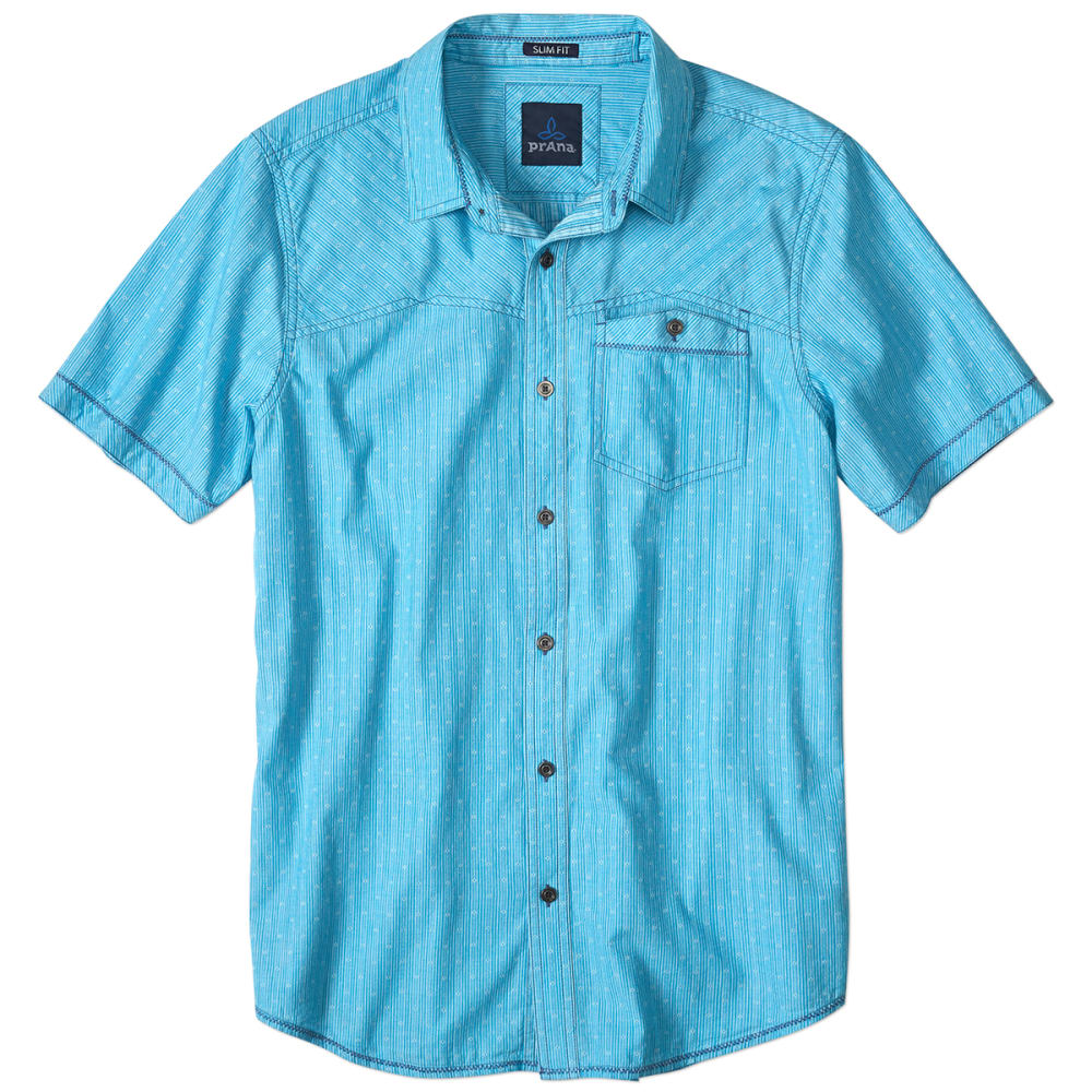 PRANA Men's Patras Slim-Fit Shirt - COVE