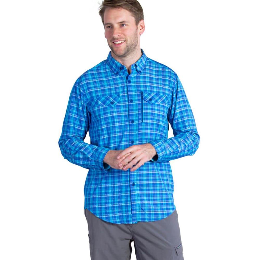 EXOFFICIO Men's Sol Cool   Cryogen   Shirt - PRUSSIAN BLUE