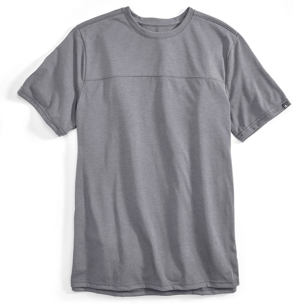 EMS Men's Techwick Vital Short-Sleeve Travel Tee - GRAY HEATHER